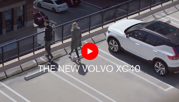 Volvo XC40 safauto video